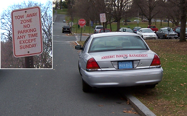 Parking Enforcement Abuse in Amherst